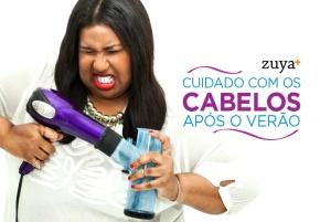 CUIDADO COM OS CABELOS APÓS OVERÃO!