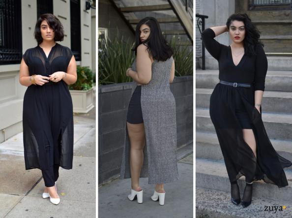 calça e vestido