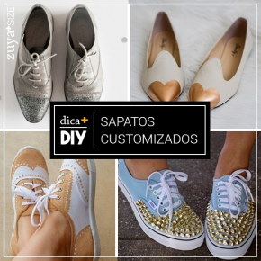 DIY – SAPATOS CUSTOMIZADOS