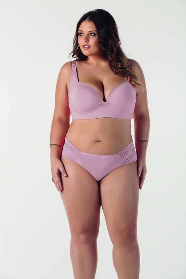 modelo sutia rosa claro