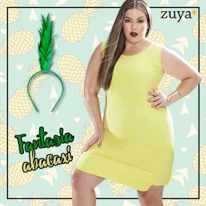 Fantasia abacaxi carrosel
