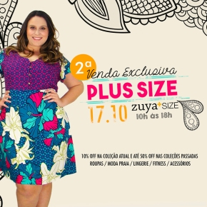 2ª Venda Exclusiva da Zuya Plus Size!!