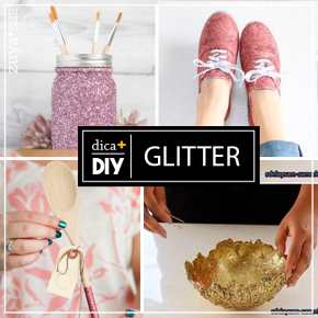 DIY  – GLITTER!