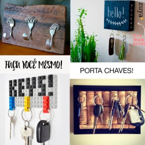 DIY : PORTA CHAVES