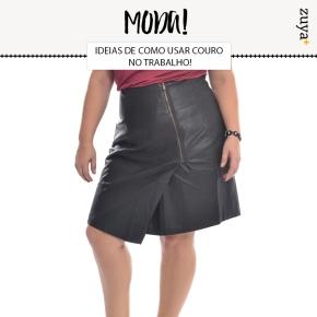 IDEIAS PARA USAR COURO NOTRABALHO!