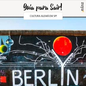 Música, arte, cinema e gastronomia celebram a cultura alemã emSP